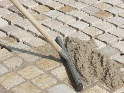 Расход сухой смеси, песок для затирки