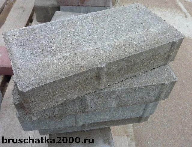 Сколько весит тротуарная плитка