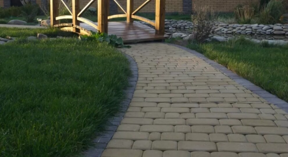 тротуарная плитка 40 мм