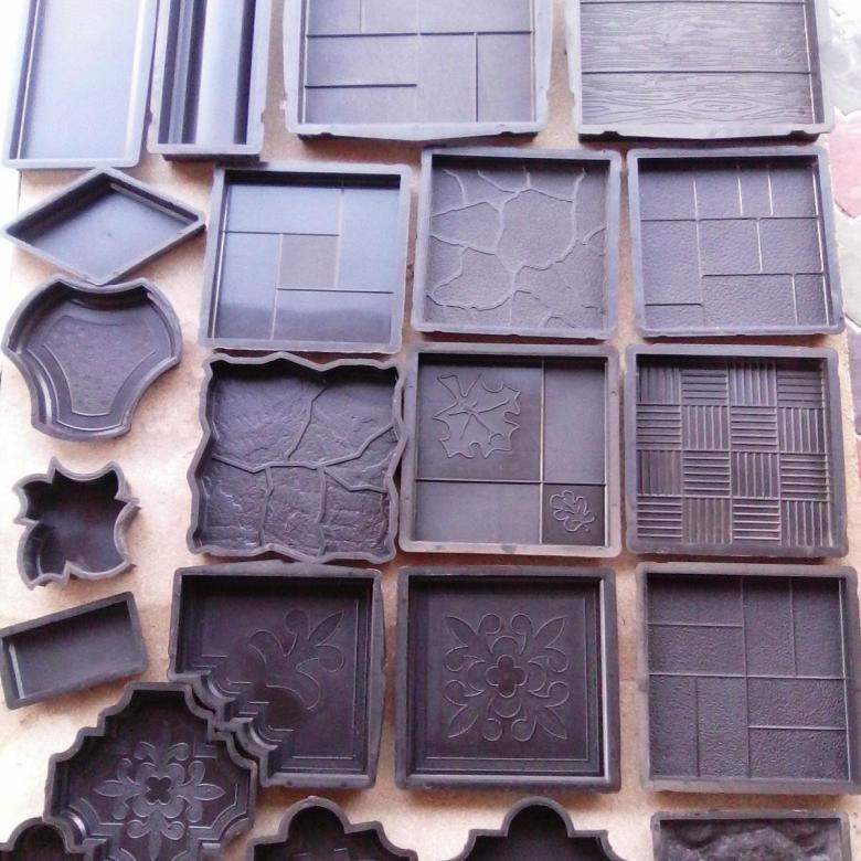 Изготовление тротуарной плитки - формы