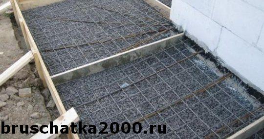 Укладка брусчатки на бетонное основание с гарантией от производителя