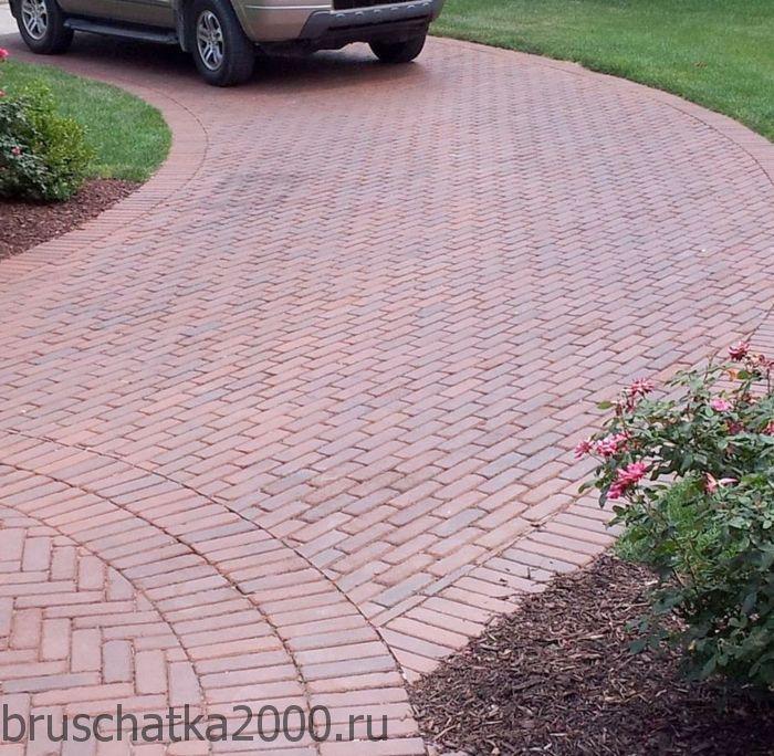 Тротуарная плитка под автомобиль - пошаговый процесс